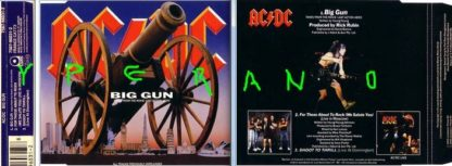 ACDC: Big Gun CD maxi-single (UK) different songs to the US release. Check video. Highly recommended