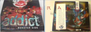 ADDICT: Monster Side CD Promo 1998. Alternative Rock, Indie Rock jewels. Check all sample