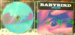 BABYBIRD: Bad Old Man CD (5 songs). RARE! Check video