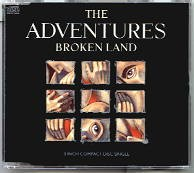 The ADVENTURES: Broken Land 3 inch CD. Great Melodic Rock. Check video