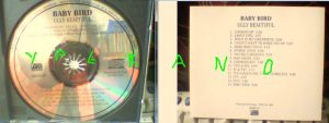 BABYBIRD: Ugly Beautiful PROMO CD USA release. s