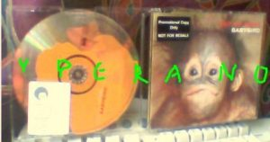 BABYBIRD: Out Of Sight PROMO CD. Great, funny baby monkey sleeve cover. Check video