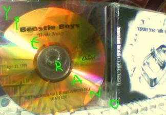 BEASTIE BOYS: Hello Nasty CDR golden Capital records label PROMO. 23 April 1998