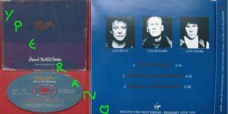 BBM: Around the next dream CD PROMO Single. Jack Bruce, Ginger Baker, Gary Moore.