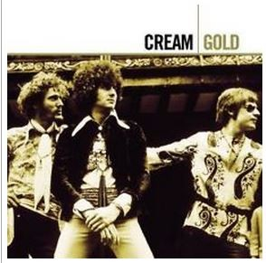 CREAM: Gold 2CD. 29 songs (studio n live). 150 minutes Eric Clapton Jack Bruce - Ginger Baker.