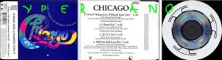 "CHICAGO: I Don't Wanna Live Without Your Love CD Rare 3"" CD. Check video"