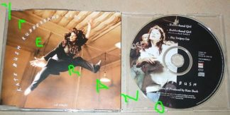 KATE BUSH: Rubberband Girl CD 1993 Check video. Highly recommended