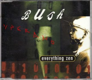 BUSH: Everything Zen CD PROMO dbut single (4 songs - 18 minutes). British alternative rock / Grunge. Check video