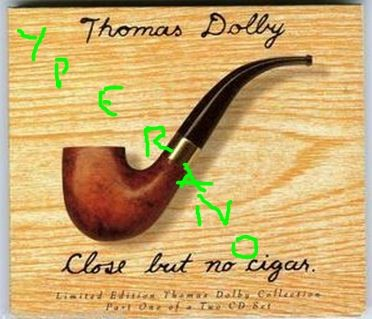 THOMAS DOLBY: Close But No Cigar CD1 Digipak. Eddie Van Halen on rhythm Guitar. Check video