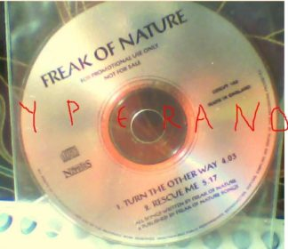 FREAK OF NATURE: Turn the other way CD Promo. White Lion singer (great vocals). CHECK VIDEOS!!!