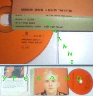 GUN: 0141 632 6326 PROMO CD with free GUN BT telephone card!