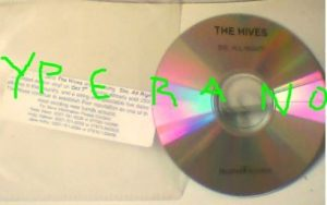 The HIVES: Die All Right CD PROMO. Garage Rock. Check video
