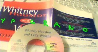 WHITNEY HOUSTON & CECE WINANS: Count On Me CD PROMO UK 3-trk. Check video