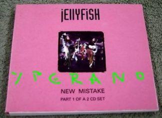 JELLYFISH: New Mistake CD Gatefold Digipack 4 track. Check video