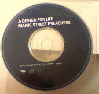 MANIC STREET PREACHERS A Design for Life CD2 Free for CD orders of £30+. Check video.