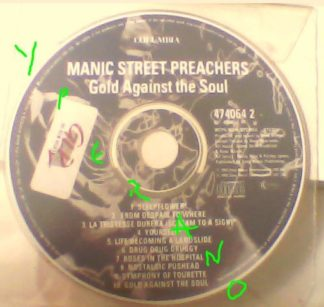 MANIC STREET PREACHERS: Gold Against the Soul CD.. Free for orders of £25+