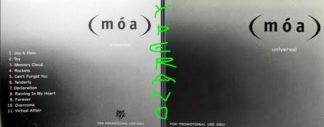 MOA (m³a): Universal CD PROMO 2G01257. Excellent album, s and video
