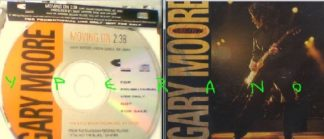 GARY MOORE: Moving on PROMO CD RARE U.S Single.