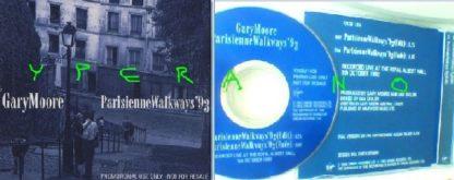 GARY MOORE Parisienne Walkways '93 PROMO ONLY CD 1993 UK. Gary+Phil Lynott written Live @ The Royal Albert Hall1992. Check video