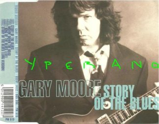 GARY MOORE Story of the Blues CD single 20 minutes - 4 songs. Check video Highly recommended