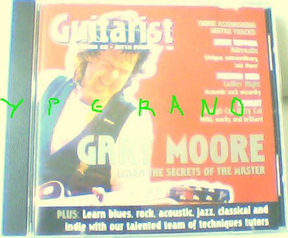 Gary MOORE: CD from Guitarist magazine February 98. cd26 git 17 03 98