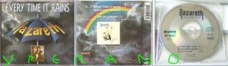 NAZARETH: Every Time It Rains CD Single on Mausoleum Records! incl. This Flight Tonight (1991 version). Check video