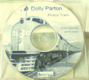 DOLLY PARTON: Peace Train CD promo 4 tracks 15 minutes. Dance mixes of this great song. Check live video + sample
