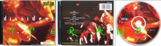 PEARL JAM: Dissident CD part one. UK single. Limited edition live. 19 minutes / great medley. 660441 5. Check video