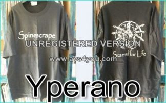 Spinescrape T-Shirt Scared For Life