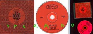 PEARL JAM: Not for you CD PROMO. Rare 1995 US 1-track promo CD single ESK6858. Check videos