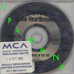 Tom Petty and the Heartbreakers: Something in The Air CD PROMO. Check video