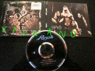 POISON: Stand CD Digipak UK 4 track. Incl. great edit and a totally unreleased song. Check videos