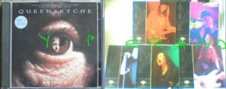 QUEENSRYCHE: Bridge CD PART 1. Complete with 5 cards showing pictures of the band. + 3 live songs in London. Check video