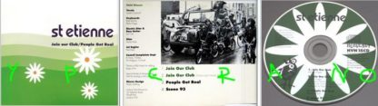 SAINT ETIENNE: Join Our Club / People Get Real CD single. Check videos