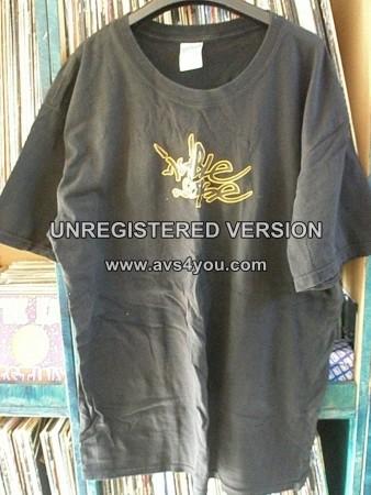 Visible Noise T-Shirt Record label promo shirt