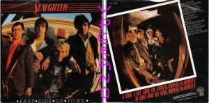 "SLAUGHTER: East side of Town 7"" Punk Rock. Ex- Slaughter and The Dogs. B side a non-LP track.1980 s"