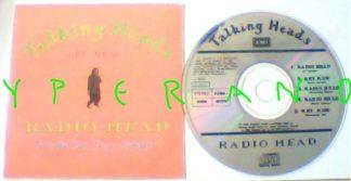TALKING HEADS Radio Head CD 5 song - 23 minute single card sleeve.