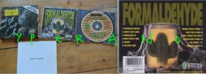 """TERRORVISION: Formaldehyde CD Limited edition slip-case cover w. """"The TV Guide"""" a 24 page photo tour booklet. Check all songs"""