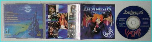 DELIRIOUS: Vamp E.P CD [big money item] pure melodic rock bliss for fans of Praying Mantis, Little Angels