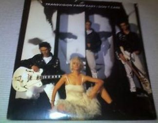 TRANSVISION VAMP: Baby I don't care CD. 4 songs - 14 minutes! Check video