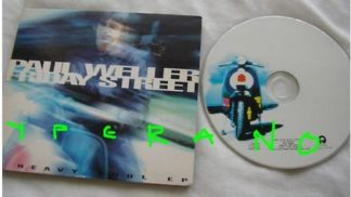 Paul WELLER: Friday Street CD digipak 1997 UK limited edition 4-track CD EP including 3 live tracks. Check video