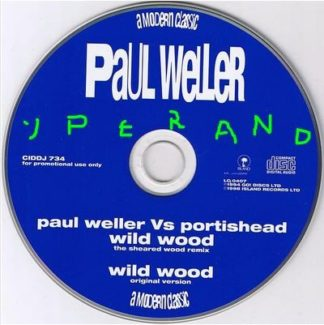 Paul WELLER: Wild Wood Vs Portishead + Original Version CD PROMO. Check video