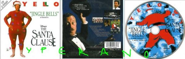 YELLO Jingle Bells CD single in cardboard sleeve. Merry Christmas! Check video
