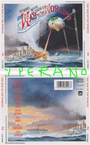 The War of Worlds (Jeff Wayne's musical version of) 2CD Special edition. with Phil Lynott of Thin Lizzy, etc. s