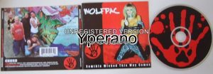 WOLFPAC: Something Wicked This Way Comes CD. BloodHound Gang front man, Jenna Jameson on cover!!!!