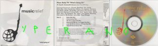MUSIC RELIEF What's going on CD 1994 charity single UK. Marvin Gaye cover. Check video