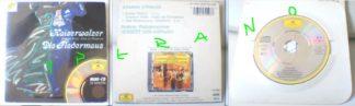 Strauss: Kaiserwalzer Die Fledermaus CD (Emperor Waltz - Valse de l' Empereur) Berliner Philharmoniker mini CD.