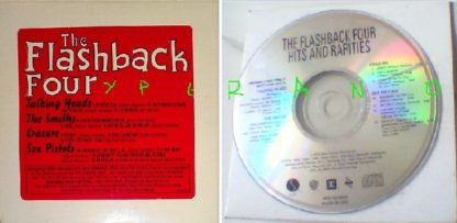 The Flashback Four: Hits And Rarities CD PROMO U.S.A. 13 remixes from Talking Heads, The Smiths, Erasure, Sex Pistols