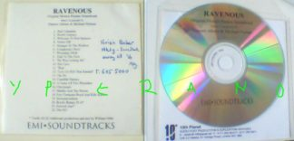 Ravenous soundtrack CDR PROMO EMI official. Damon Albarn (from Blur) & Michael Nyman Ž(Original Motion Picture Soundtrack)