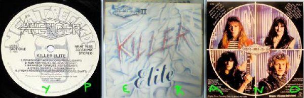 AVENGER II: Killer Elite LP. Killer NWOBHM. & 2 videos